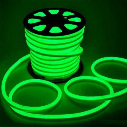 Tira LED Neon Flex 10 W/m 230V VERDE