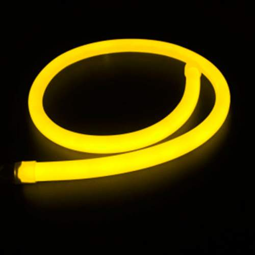 Tira LED Neon Flex 10 W/m 230V AMARILLO