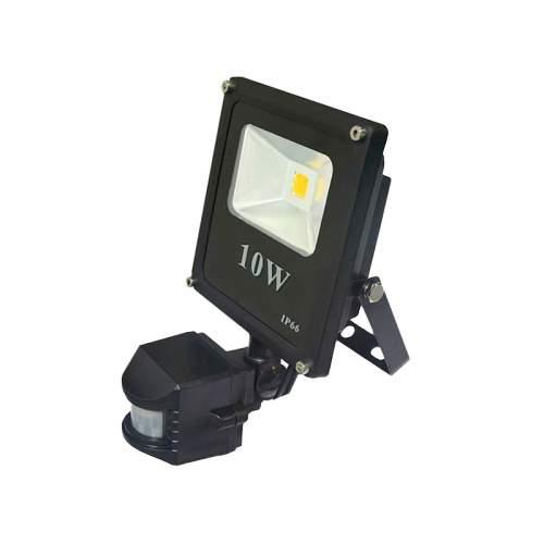 Foco proyector led cob 10w con sensor de movimiento for Foco con sensor de movimiento