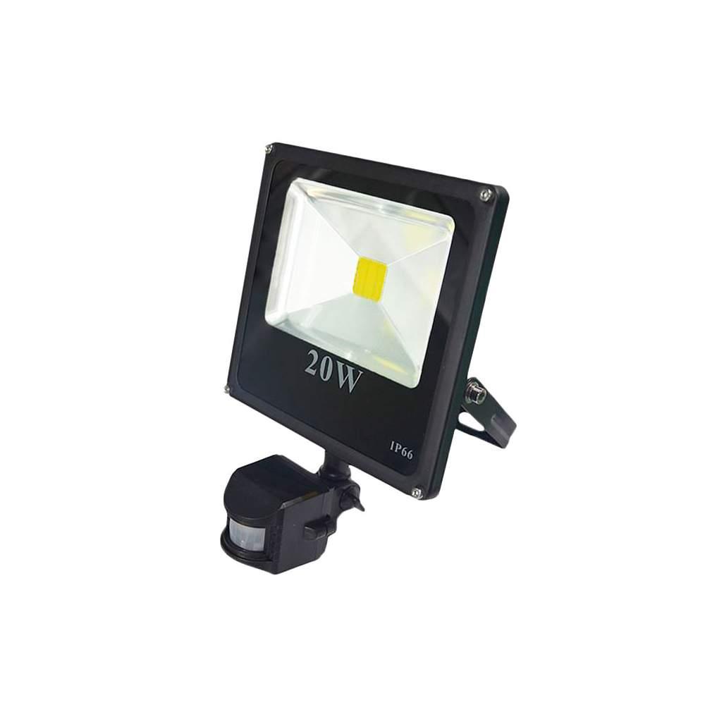 Foco proyector led 20w con sensor de movimiento - Foco con sensor de movimiento ...