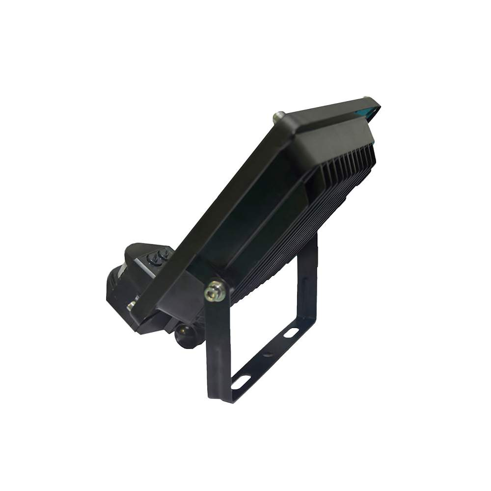 Foco proyector led 20w con sensor de movimiento for Detector movimiento exterior