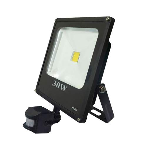 Foco proyector led 30w con sensor de movimiento - Foco con sensor de movimiento ...