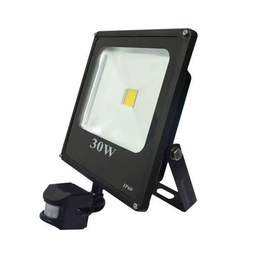 Foco Proyector LED 30W con Sensor de Movimiento