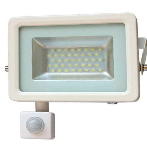Foco Proyector LED 20W Blanco con Sensor de Movimiento