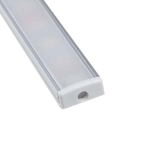 Perfil de Aluminio superficie Tira LED 1 Metro