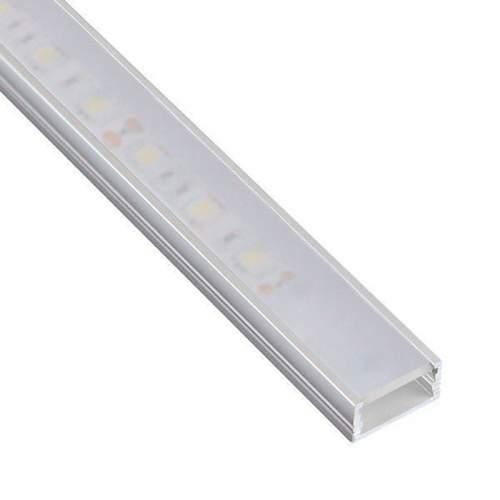 Perfil Aluminio superficie 2 metros Tira LED