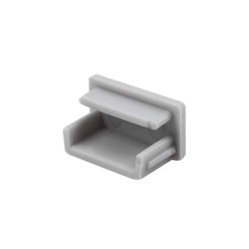 Tapa lateral para perfiles superficie de 1 y 2 metros