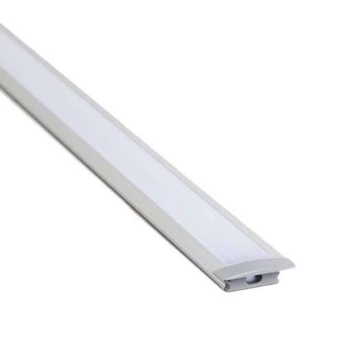 Perfil Aluminio empotrar 1 Metro Tira LED