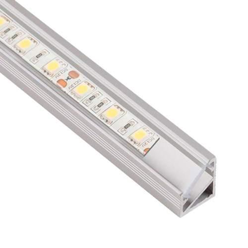 Perfil Aluminio Esquinero 1 Metro Tira LED