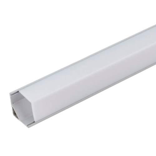 Perfil Aluminio Esquinas 1 Metro Tira LED
