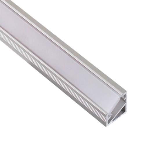 Perfil Aluminio Esquinero 2 Metros Tira LED