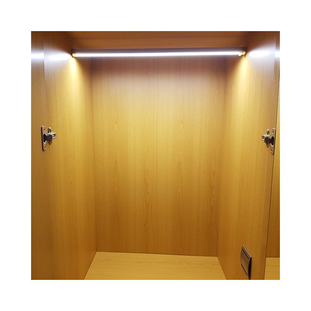 Perfil aluminio barra armarios 2 metros tira led - Perfiles de aluminio para armarios ...