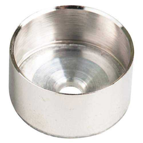 Kit soportes para perfil Aluminio Barra Armarios Redondo
