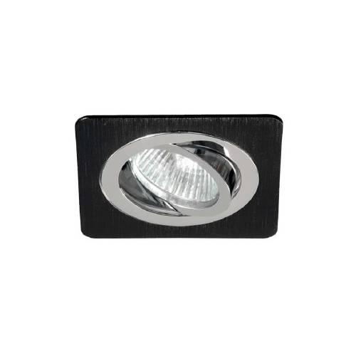 Empotrable Aluminio Negro-Cromo