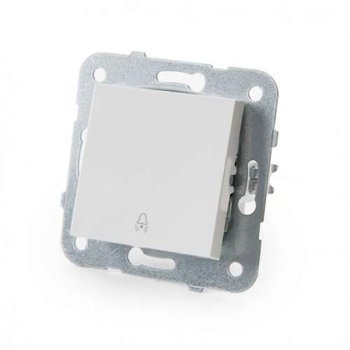 Pulsador Panasonic Karre 10A Blanco Empotrable