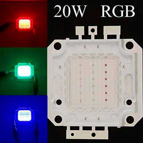 CHIP LED RGB 20W
