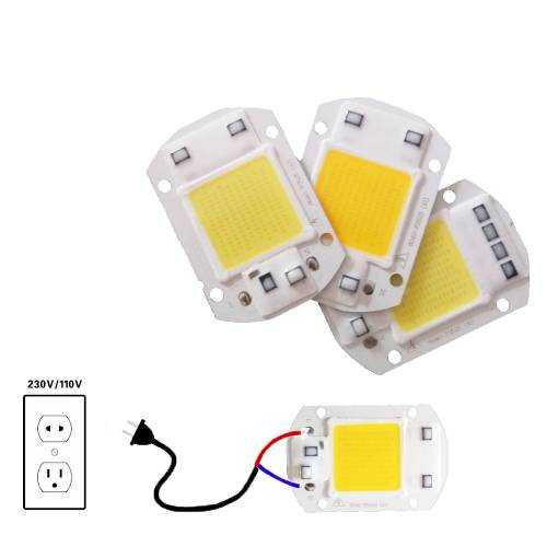 Chip LED Cob 20W a 230V
