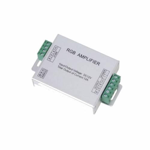 Amplificador Controlador RGB 144W 12-24V