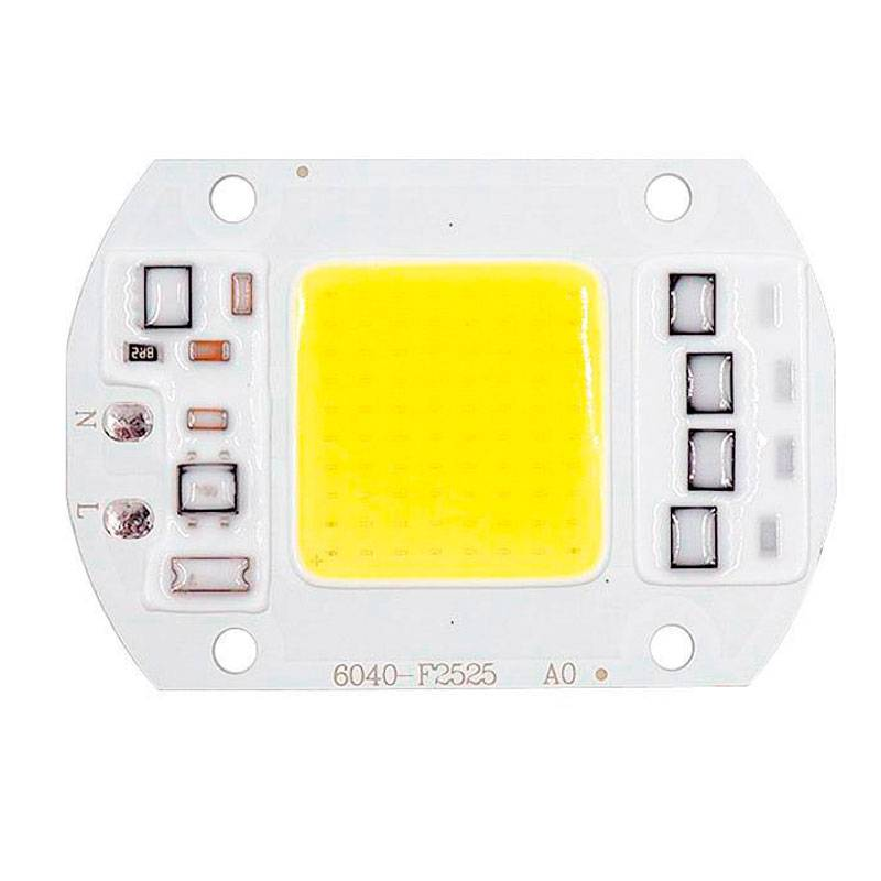 Chip LED Cob 50W a 230V