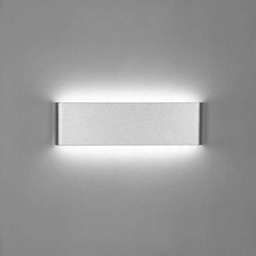 Aplique Pared LED 8W-18W-24W ACERO-NEGRO