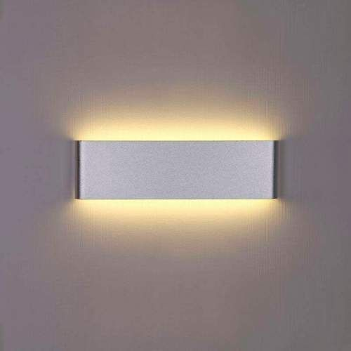 Aplique Pared LED 8W-18W-24W ACERO-NEGRO