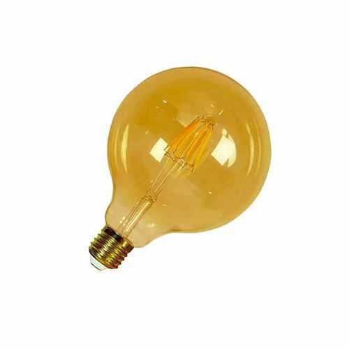 Bombilla E27 Globo Vintage 6W regulable filamento Led