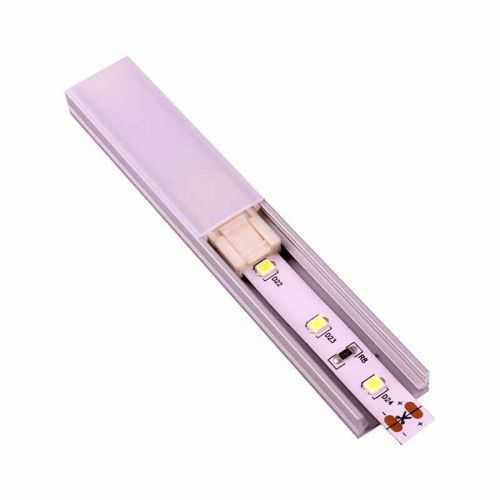 Conector rápido Empalme Tiras LED 8mm para interior de perfil