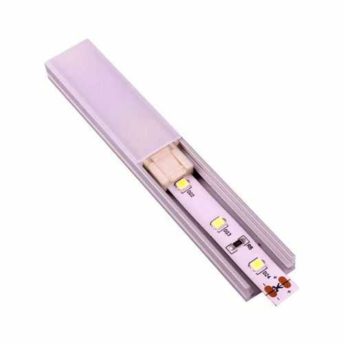 Conector rápido Tira LED 2 metros para interior de perfil