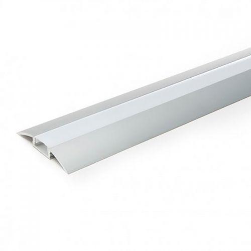 Perfil Aluminio Tira LED superficie 2 metros suelos y muebles