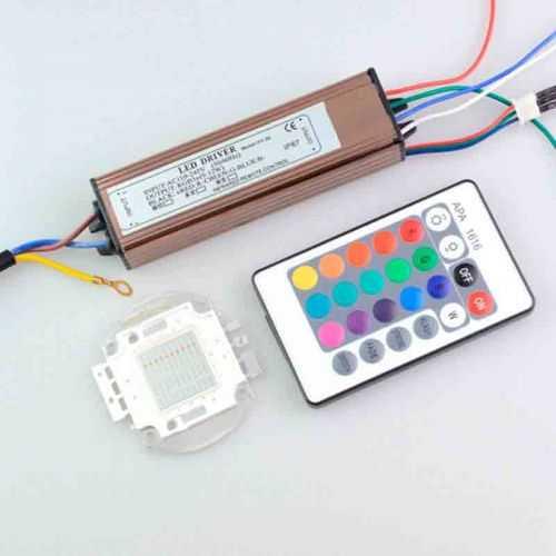 Driver para Foco LED RGB 30W
