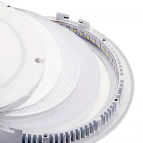 Repuesto LED smd Downlight Panel/Plafón LED 24W