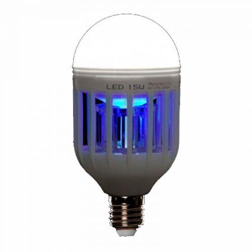 Bombilla LED Antimosquitos E27 15W 230V