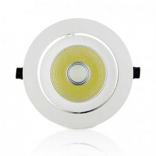 Foco Basculante Redondo LED COB 12W