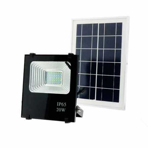 Foco Proyector LED Solar 20W