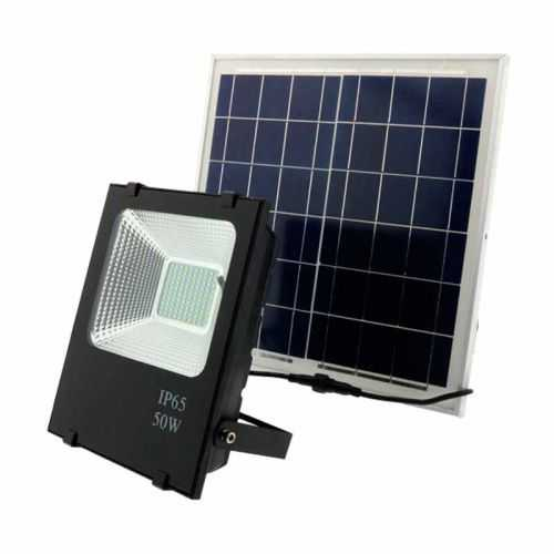 Foco Proyector LED Solar 50W
