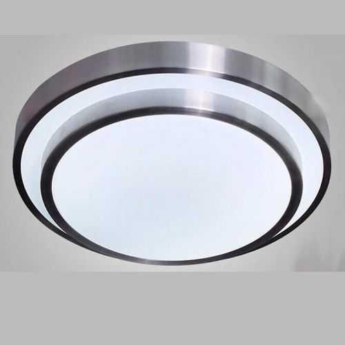 Plafón LED Aluminio 24W