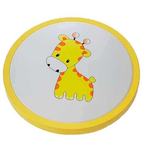 Plafón LED Infantil Amarillo Jirafa