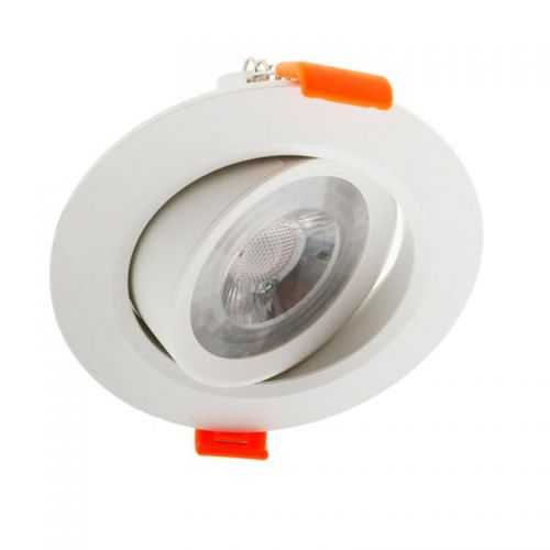 Empotrable LED 7W basculante blanco