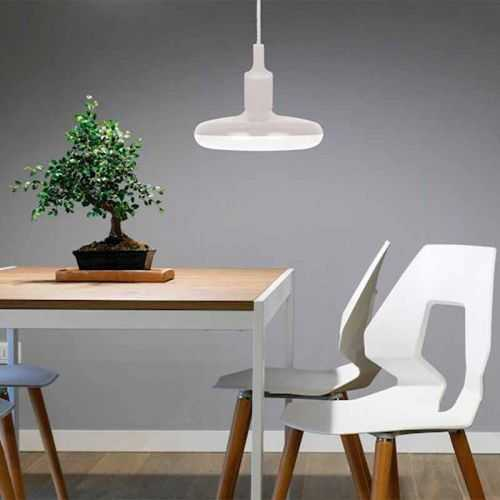 Lámpara colgante LED 18W Blanca