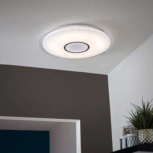 Plafón LED Músical con Altavoz 36W+App+Mando a distancia