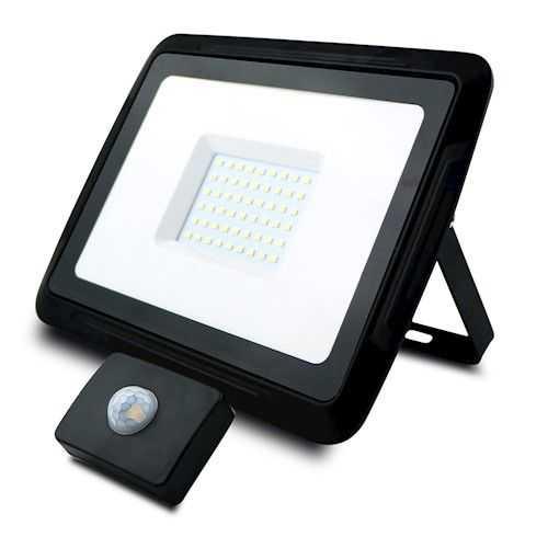 Foco Proyector LED 50W con Sensor de Movimiento