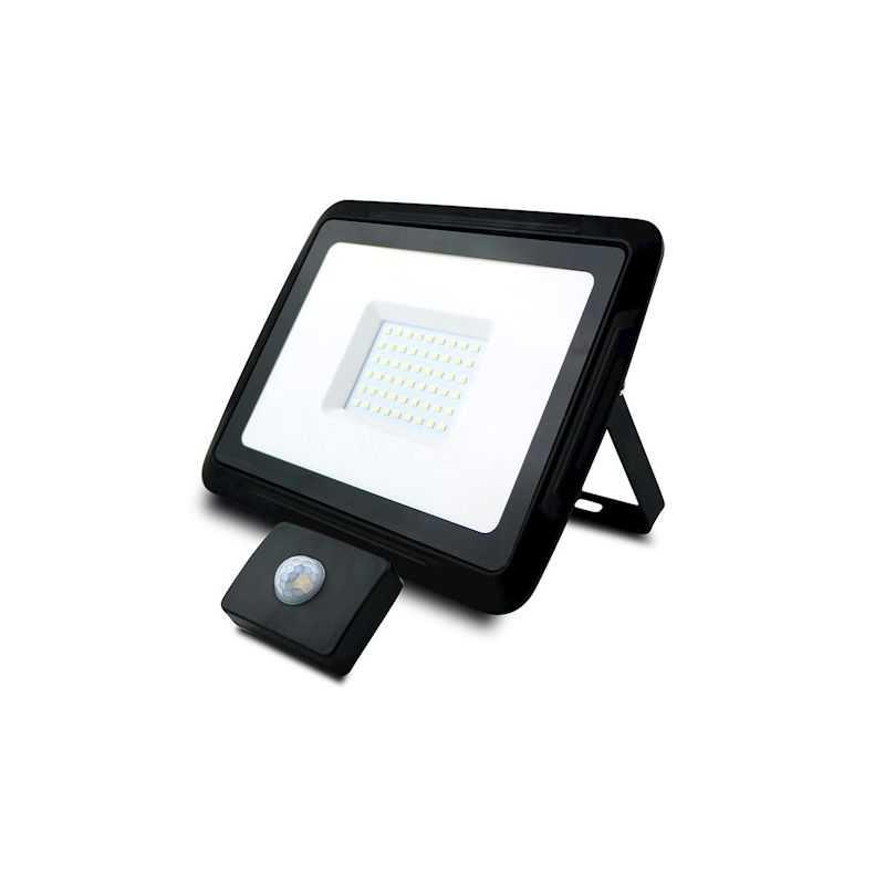 Foco Proyector LED COB 50W con Sensor de Movimiento