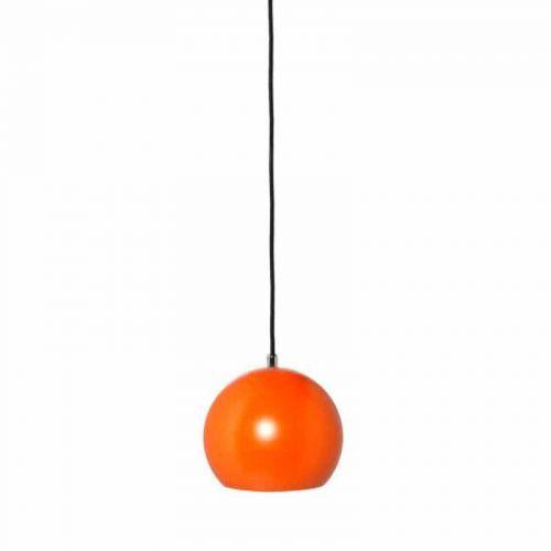 Lámpara colgante LED Esfera-Bola 12W Naranja