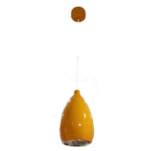 Lámpara colgante LED Pera 12W Naranja