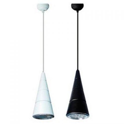 Lámpara colgante LED Cono 12W Blanca