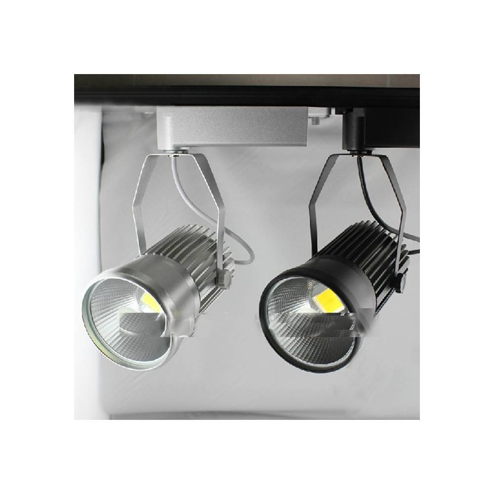Proyector led carril monof sico 20w for Focos led para cocina