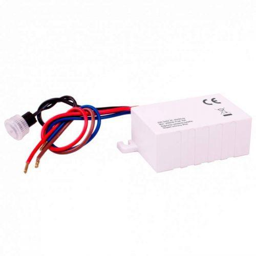 Sensor Crepuscular Mini de empotrar