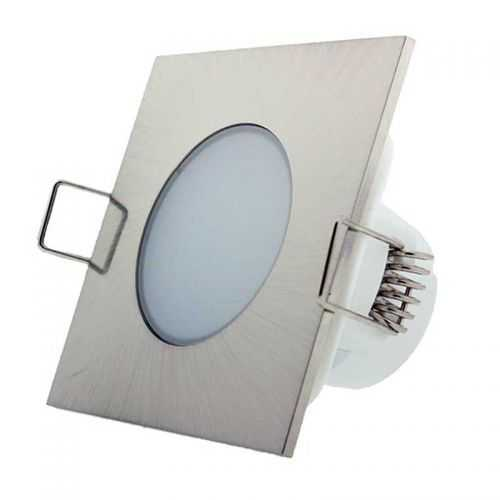Empotrable Estanco LED 5W Niquel IP55