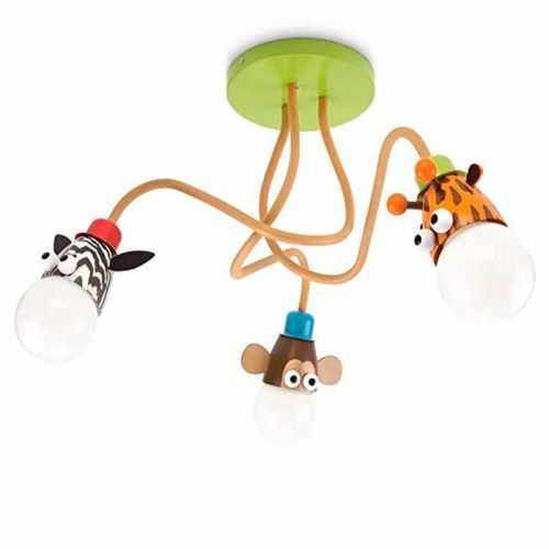 Plafón LED 27W Infantil Zoo Mykids