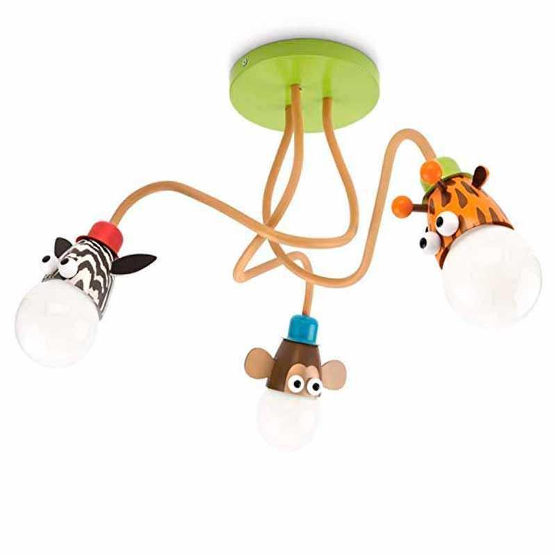 Plafón LED Infantil Zoo Mykids